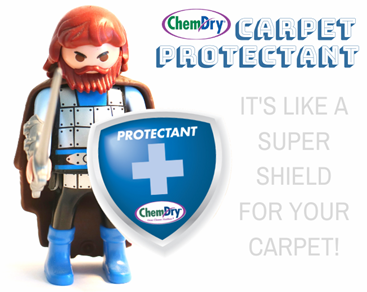 carpet protectant with Brown's Chem-Dry keeps stains out and acts like a shield for your carpet