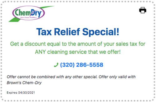 Carpet Cleaning Special!
